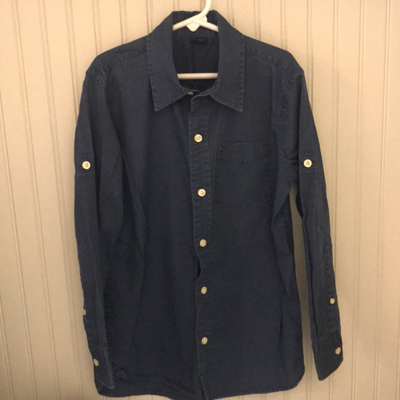 GapKids Other - Boys navy blue button down shirt